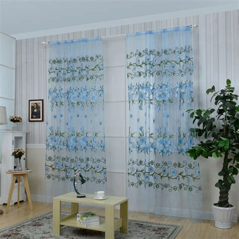 decorating with sheer curtains honana fashion transparent tulle curtains window screen