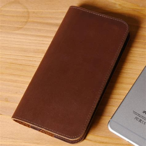 Handmade Iphone - handmade iphone 6 6s 6plus 7 7plus wallet leather