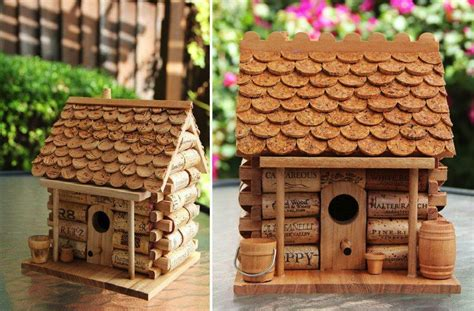 house project ideas diy craft project wine cork house find fun art projects
