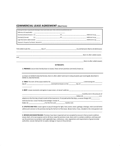 land rental contract template 28 images sle lease