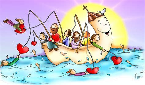 imagenes religiosas catolicas en caricatura y los har 233 pescadores de hombres mc 1 17 ecos de la