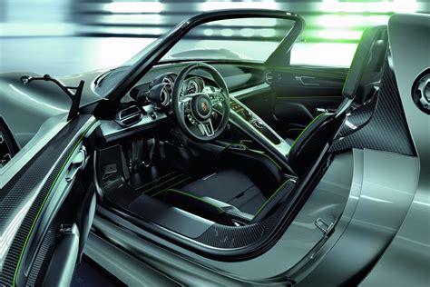 porsche concept interior porsche 918 spyder hybrid concept autotribute
