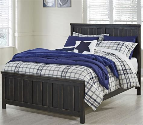 black full bed jaysom black full panel bed from ashley coleman furniture