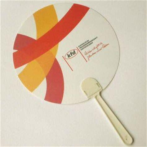 custom shape hand fans cheap promotional plastic hand fan eco friendly pp sheet