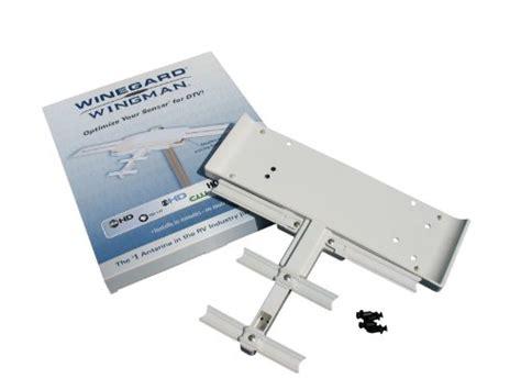 winegard rv wing wingman uhf rv tv antenna booster   winegard sensar batwing digital rv