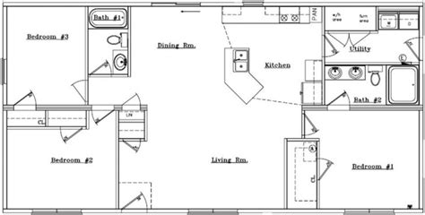 basic ranch floor plans best of basic ranch style house plans new home plans design