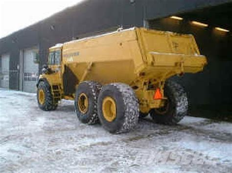 volvo ac articulated dump truck adt year   sale mascus usa