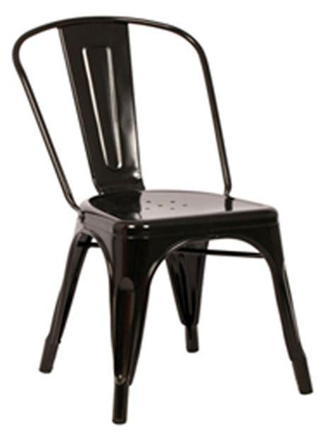 galvanized metal outdoor chairs galvanized steel black indoor outdoor stackable side chair
