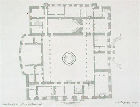 Blueprint Floor Plan File Chatsworth G Vit Brit Edited Jpg Wikimedia Commons