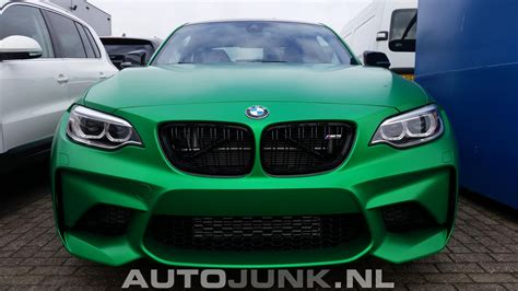 bmw colors bmw m2 looks stunning in matte green color