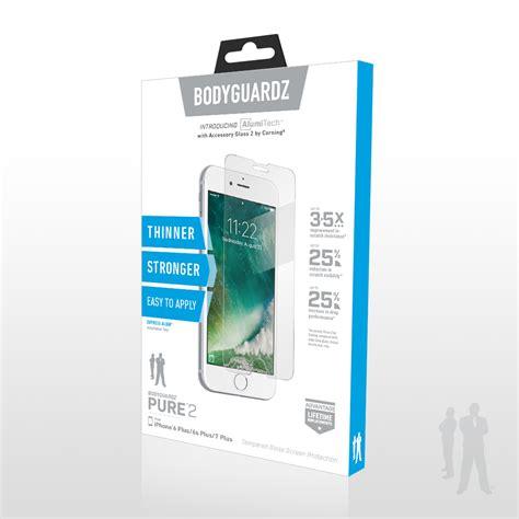 strongest protection   iphone  bodyguardz pure