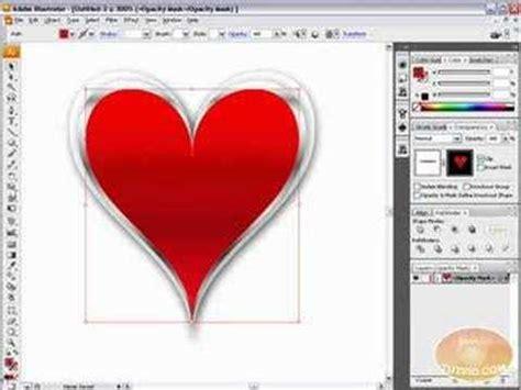tutorial youtube illustrator draw vector heart artwork adobe illustrator tutorial