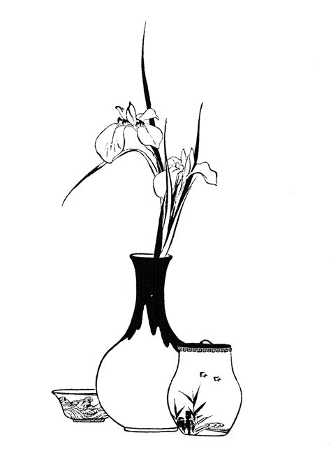coloring pages japanese flowers flower coloring pages