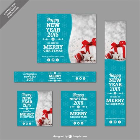 templates for christmas banners christmas banner templates pack vector free download