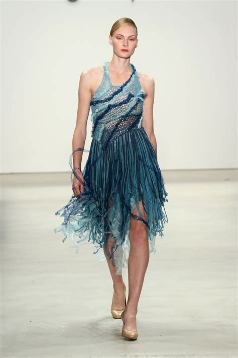 New York Fashion Week Tuleh by Supima Design Comoetition At New York Fashion Week