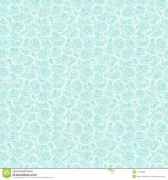 pattern background light blue light blue seamless pattern with shells ocean bac stock
