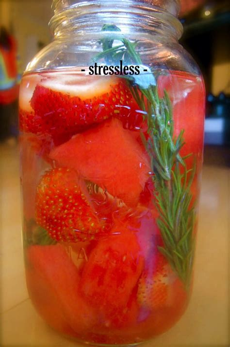 Detox Drinks With Rosemary by Vitamin Water Different Recipes For Different