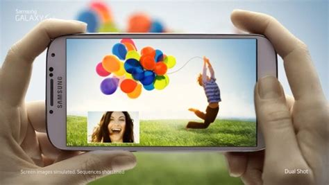 a new year television ad features a in a parade samsung kicks galaxy s4 ad caign with new tv spots