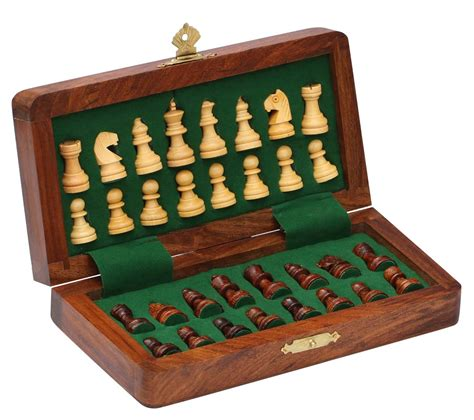 cheap chess sets wholesale 7x7 inch wooden folding chess set bulk buy