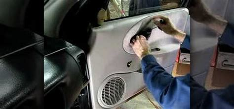 How To Remove A Car Door by How To Remove The Inner Door Panel In A Saturn S Series