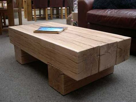 Sleeper Table by Railway Sleeper Table