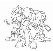 Dibujos Para Colorear De Sonic  Car Interior Design