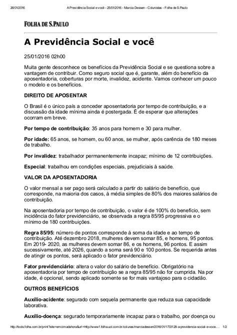 cdula c previdncia 2016 a previd 234 ncia social e voc 234 25 01 2016 marcia dessen