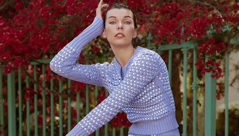 milla jovovich everything milla jovovich is everything in new kenzo caign