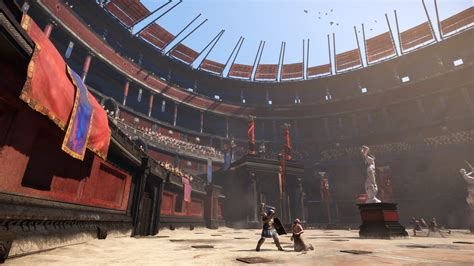 colosseum awning ryse son of rome game giant bomb