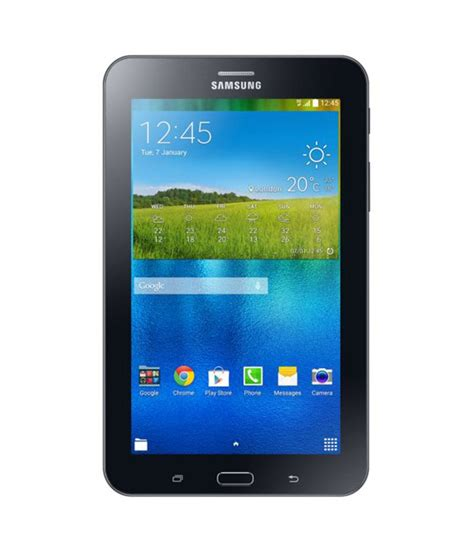Samsung Galaxy Tab 3v 3g samsung galaxy tab 3v 3g wifi calling black tablets at low prices snapdeal