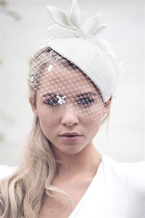 fantastic bridal hats with veil look weddceremony - Wedding Hair Up With Hat