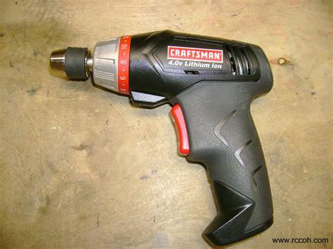 Rc Tools And Tips Craftsman Cordless Screwdriver Rccoh
