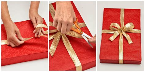 wrapping a gift how to wrap a gift wrapping a present step by step instructions with pictures