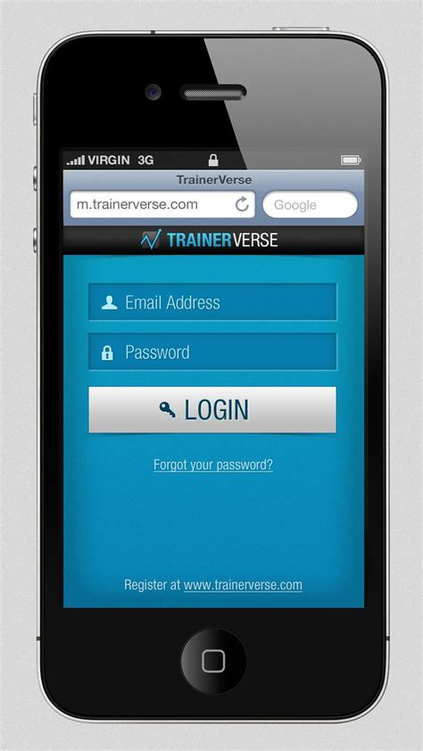 login mobile mobile login screen technology