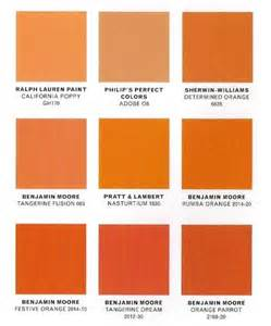 shades or orange 2012 pantone color tanerine tango design retail