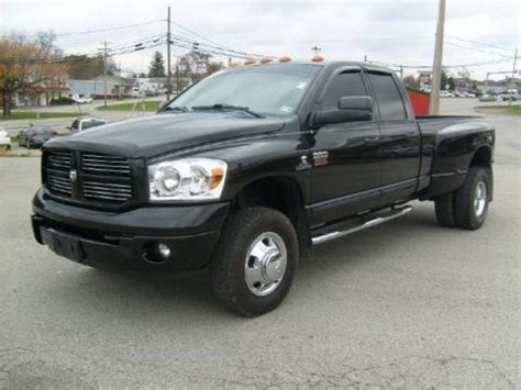 2007 dodge 3500 specs 2007 dodge ram 3500 sport cab 4x4 dually data info