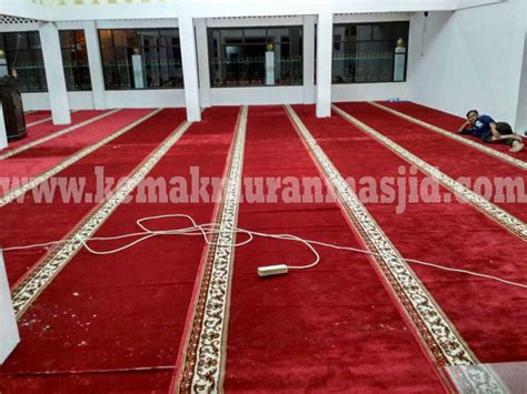 Karpet Lantai Per Roll jual karpet masjid polos al husna pusat kebutuhan masjid