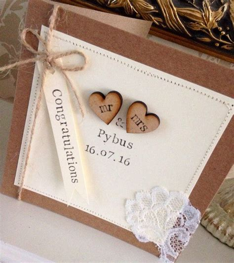 Handcrafted Wedding - 17 beste idee 235 n wedding cards op