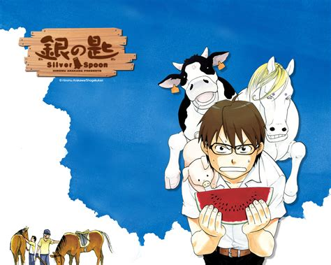 gin no saji gin no saji silver spoon images hachiken hd wallpaper