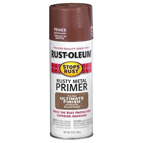 shop rust oleum stops rust interior primer actual net contents 12 fl oz at lowes