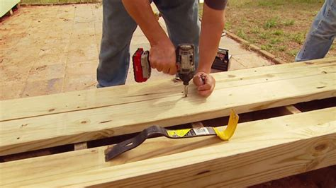 How To Remove A Patio by How To Remove And Replace Wood Decking Today S Homeowner