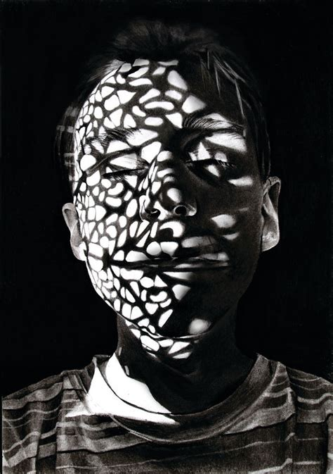a pattern of shadow and light book 5 shocking shadow portraits shadow covered