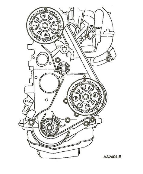 1997 ford ranger timing belt 1998 ford ranger i replaced a broken timing belt lined