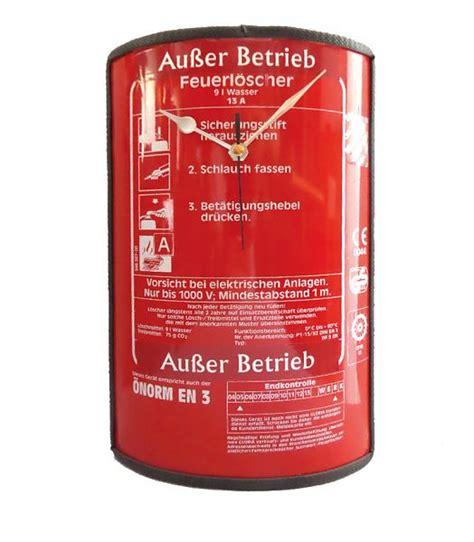 Was Kostet Ein Feuerlöscher by Feuerl 246 Scher Wanduhr