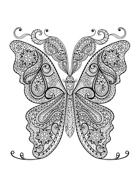 butterflies coloring book for adults books animal coloring pages for adults best coloring pages for