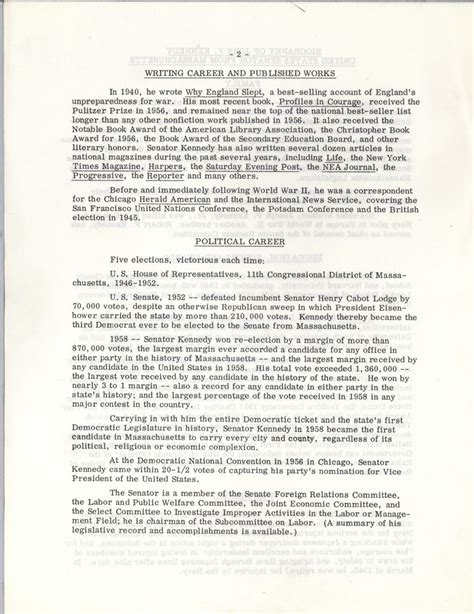 john f kennedy biography essay general biography john f kennedy presidential library