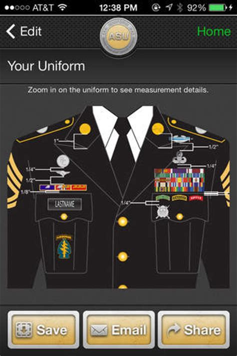 Wings Dress Ar 1 iuniform asu builds your army service app for