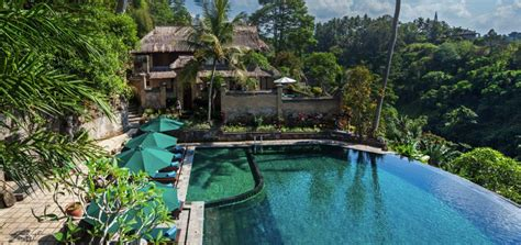 hanging infinity pools in bali 7 luxury resorts in ubud with amazing infinity pools and