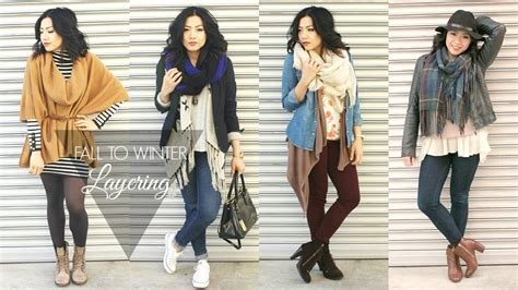 Style Ideas How To Wear The Layered Look And Not Look Larger Than Second City Style Fashion by Fall To Winter Fashion Lookbook Layering Collab