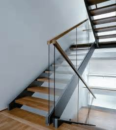 Glass Stairs Banisters 25 Best Ideas About Glass Stair Railing On Pinterest